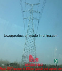 500kv Transmission Line Szt3 Drum Type Double Circuit Suspension Tower pictures & photos