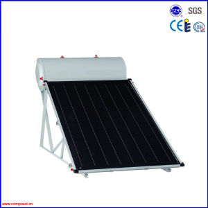 Compact Flat Plate Solar Water Heater Collector with CE Certificate pictures & photos