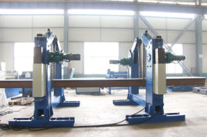 Motorized Steel Beam Turning Over Machine pictures & photos