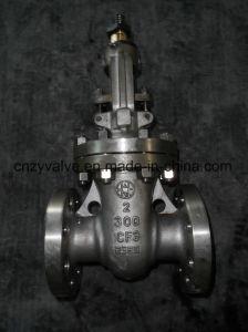 """API600 Ss CF3 300lb Handwheel Gate Valve (Z41H-2""""-300LB)  pictures & photos"""