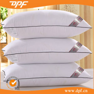 5star Hotel Pillow King Pillow Cotton Shell with Microfiber Filling pictures & photos