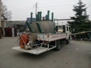 Single Cylinder Hot Melt Kettle for Thermoplastic Road Marking Paint Lm400f