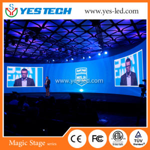 Conference Center Backdrop Large Curve Shaped LED Display pictures & photos