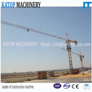 Qtz80 Series 6t Load Tower Crane with 56m Bopm Length for Sales pictures & photos