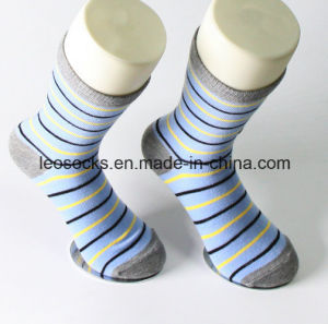 Custom Cotton Mens Dress Socks High Quality pictures & photos
