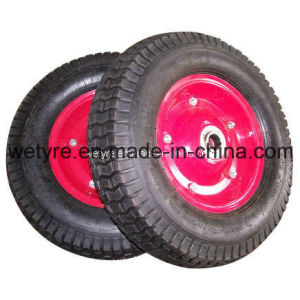 "Low Price Pneumatic Rubber Wheel with High Quality (16""*4.50-8)"