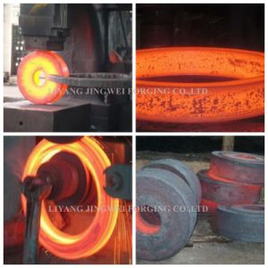 Steel Guide Wheel Forging Product 4140 Steel Forging Part pictures & photos
