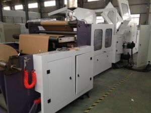 CE-Paper Bag Making Machine with Window pictures & photos
