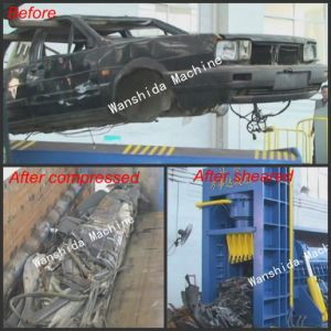 Waste Car Compressing Machine pictures & photos