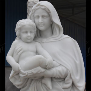 Metrix Carrara Marble Sculpture for Home Decoration Ms-1015 pictures & photos