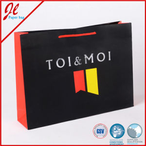 Bulk Clothing Packing Shopping Package Paper Tote Bag Rope Handled pictures & photos