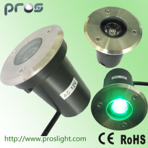 1W High Power Waterproof LED Lawn Light for Parks/Gardens pictures & photos