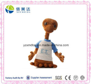 Salable New Design Dressing Extra-Terrestrial Plush Stuffed Toy pictures & photos