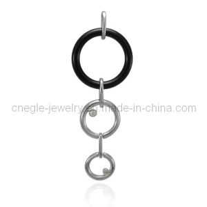 Fashion Silver Pendant Gemstone Pendant Jewelry