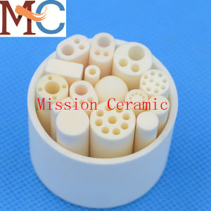Industrial Alumina Cylinder Ceramic Tube for Crystal Pulling Tool pictures & photos