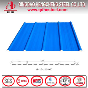 Prepainted Corrugated PPGI Roofing Steel Galzed Tile pictures & photos