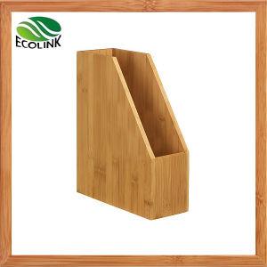 Bamboo Desk Organizer Bamboo File Holder pictures & photos