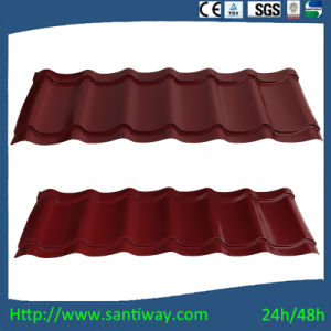 Red Roof Tile Corrugated Steel Sheets Facotry Direct Selling pictures & photos