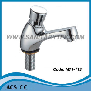 Self Closing Basin Tap (M71-113) pictures & photos
