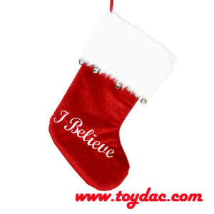 Plush Fur Christmas Stocking pictures & photos
