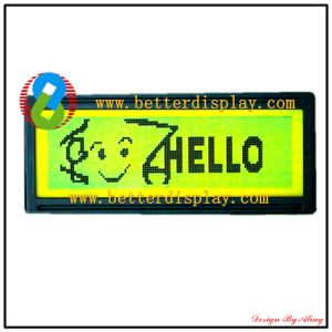 Standard Graphic Modules Yellow Green Panel LCD LCM pictures & photos