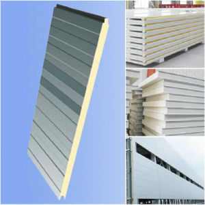 Hot Sales Metal Building Meterials Insulated Ployurthane PU Pur PIR Sandwich Panel pictures & photos
