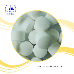 Water Softener Salt Tablet 99% for Water Treatment pictures & photos
