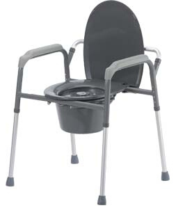 3 in 1 Elongated Knock Down Commode Chair (3101)