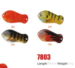 Wholesale 65mm 14G Fishing Spoon Lures pictures & photos