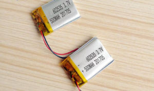 602535 500mAh Li-ion Polymer Battery pictures & photos