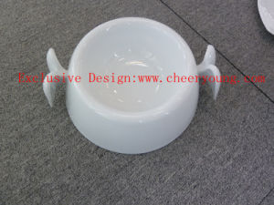 Ceramic pet bowl(CY-D1004) pictures & photos