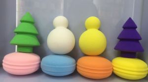 Colorful Cosmetic Powder Puff, Makeup Sponges Puff pictures & photos