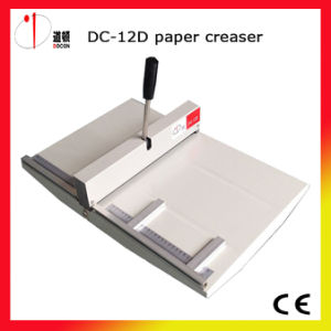 DC-12D Manual Paper Creasing and Perforating Machine pictures & photos