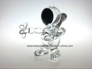 New Design Wholesale! Honeybaby Glass Water Pipe Oil Rig with Slitted Perc Diffusor