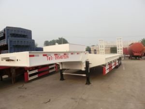 China Class One 50 Tons Low Bed Semi Trailer pictures & photos