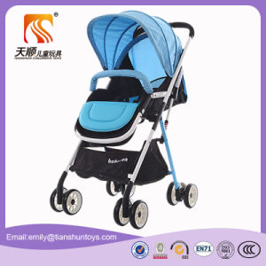 Ce Approvede 8 EVA Wheels Baby Stroller Pram with 2 Brakes pictures & photos