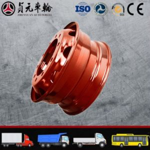 Truck Steel Wheel Rim Zhenyuan Auto Wheel (17.5*6.00) pictures & photos