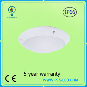 Emergency 20W 30W 40W Radar Microwave Motion Sensor IP65 Round LED Ceiling Light pictures & photos