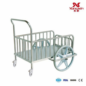 Stainless Steel Dressing Delivery Trolley (YXZ-A041)