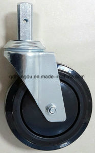 Medical Caster Without Brake Caster (Black) pictures & photos