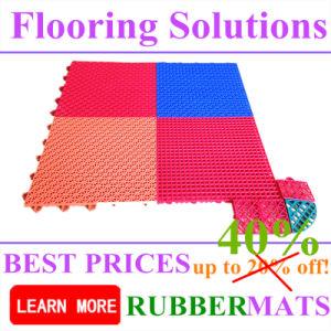 PP Interlock Tile, Sports Court Flooring Walkway Park Flooring Mat pictures & photos