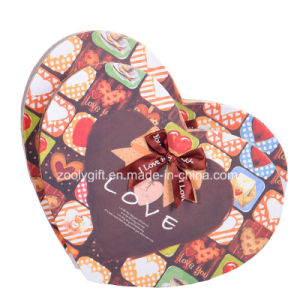 Hearted Shape Printing Paper Gift Packaging Boxes  with Ribbon pictures & photos