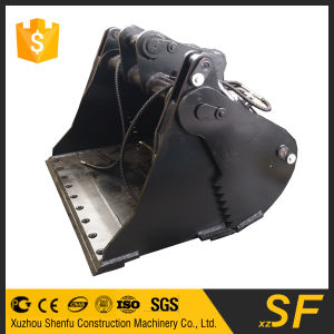 China Professional 10t Four in One Bucket 4in1 Bucket with Double Cutting Edge pictures & photos