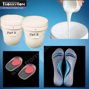 Skin Safety Addition Cure Silicone for Insoles Making pictures & photos