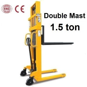 1500kg Hand Manual Forklift (SDA15) pictures & photos
