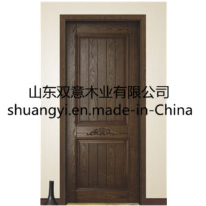 The Classic Green Environment Is Pure Wood Door pictures & photos