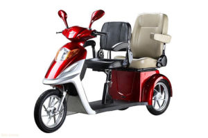 500W/800W Disabled/Elderly Electric Tricycle with Deluxe Saddle pictures & photos