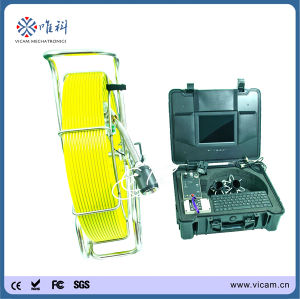 Professional Industrial Sewerage Camera Video Inspection System with 120m Cable pictures & photos