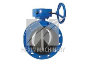 Butterfly Valve Double Flanges with High Precision Casting pictures & photos