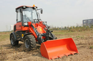 Everun Brand CE Certificated Articulated 1.2 Ton Mini Loader pictures & photos